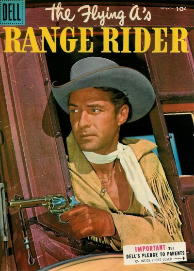 Cover for The Flying A's Range Rider (Dell, 1953 series) #11