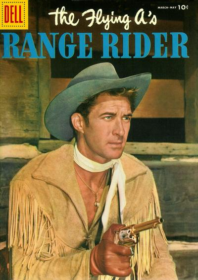 Cover for The Flying A's Range Rider (Dell, 1953 series) #13