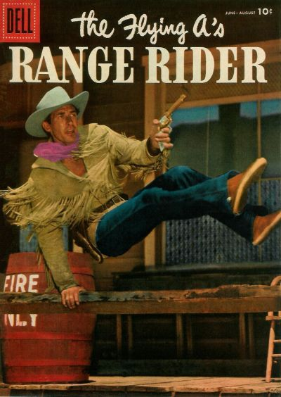Cover for The Flying A's Range Rider (Dell, 1953 series) #14