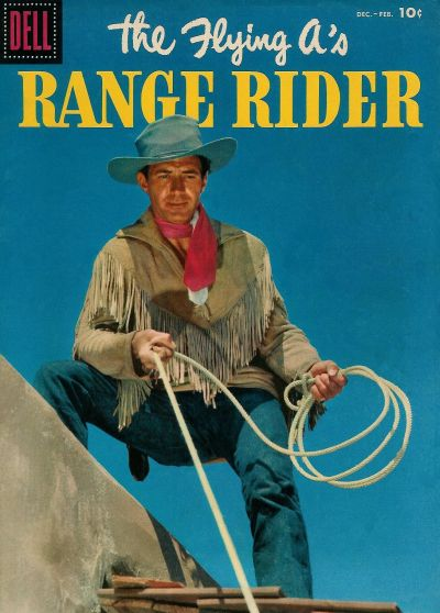 Cover for The Flying A's Range Rider (Dell, 1953 series) #16