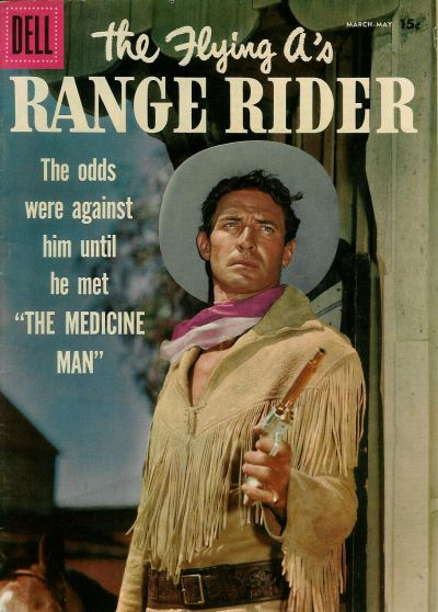 Cover for The Flying A's Range Rider (Dell, 1953 series) #17