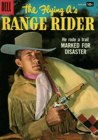 Cover for The Flying A's Range Rider (Dell, 1953 series) #18