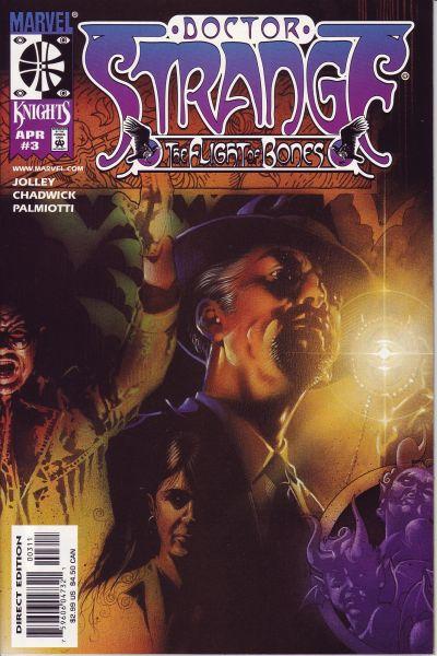 Cover for Doctor Strange (Marvel, 1999 series) #3