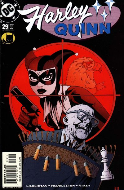 Cover for Harley Quinn (DC, 2000 series) #29