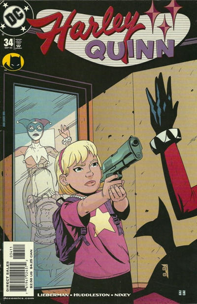 Cover for Harley Quinn (DC, 2000 series) #34 [Direct Sales]