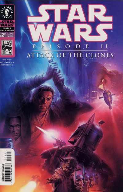 Cover for Star Wars: Episode II - Attack of the Clones (Dark Horse, 2002 series) #2 [Cover B - Photo Cover Newsstand]