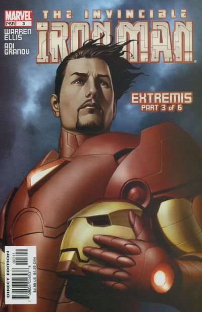Cover for Iron Man (Marvel, 2005 series) #3