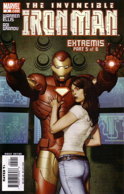 Cover for Iron Man (Marvel, 2005 series) #5