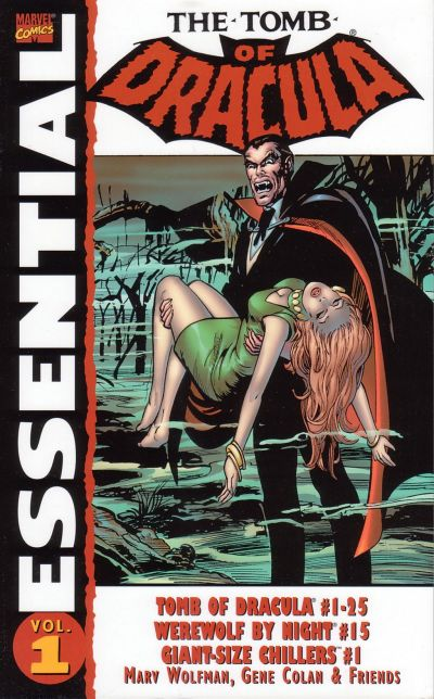 Cover for Essential Tomb of Dracula (Marvel, 2004 series) #1