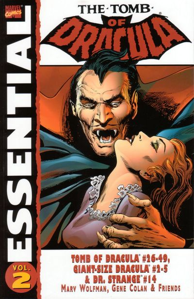 Cover for Essential Tomb of Dracula (Marvel, 2004 series) #2