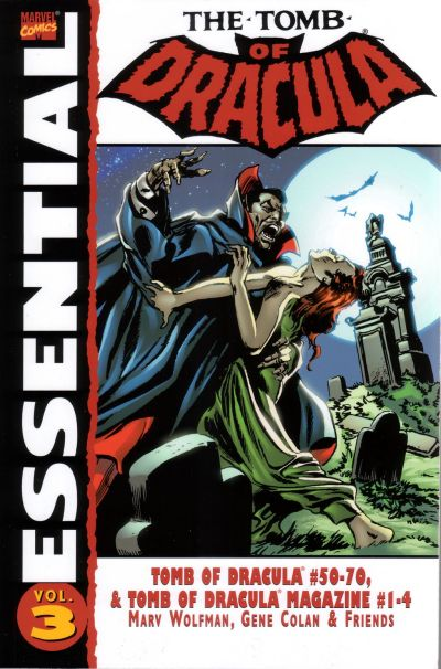 Cover for Essential Tomb of Dracula (Marvel, 2004 series) #3