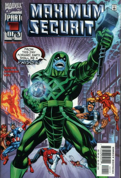 Cover for Maximum Security (Marvel, 2000 series) #1
