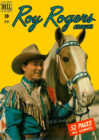 Cover for Roy Rogers Comics (Dell, 1948 series) #30
