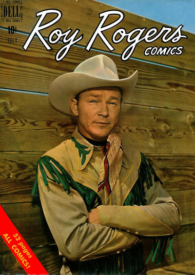 Cover for Roy Rogers Comics (Dell, 1948 series) #31