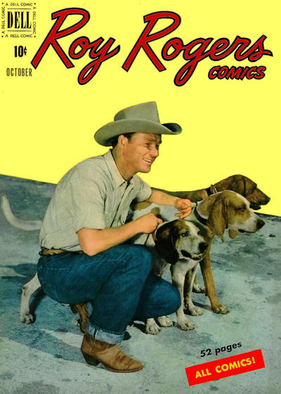 Cover for Roy Rogers Comics (Dell, 1948 series) #34