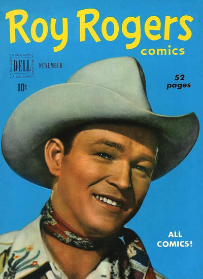 Cover for Roy Rogers Comics (Dell, 1948 series) #35
