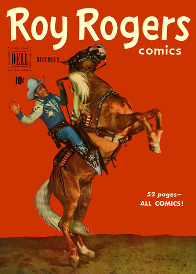 Cover for Roy Rogers Comics (Dell, 1948 series) #36
