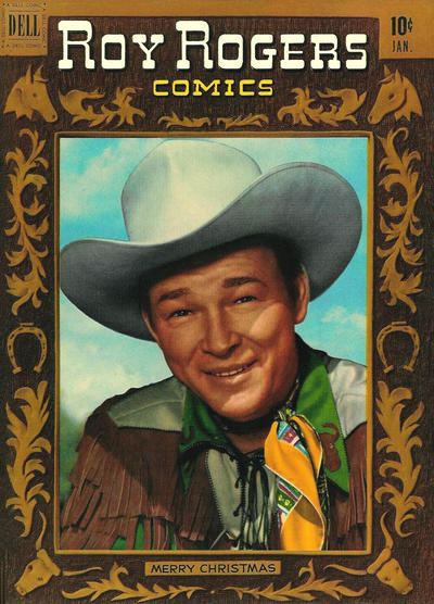 Cover for Roy Rogers Comics (Dell, 1948 series) #37