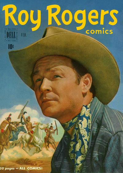 Cover for Roy Rogers Comics (Dell, 1948 series) #38