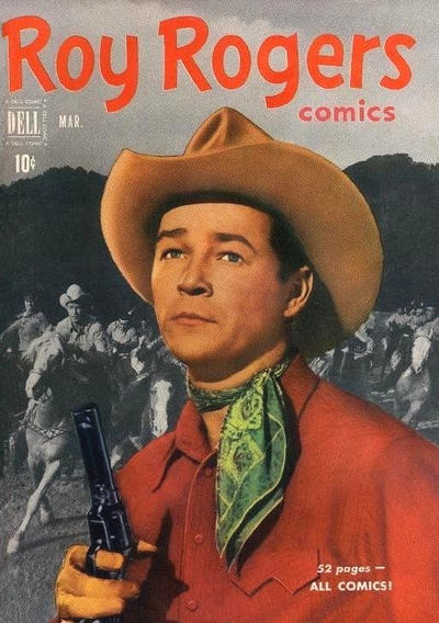Cover for Roy Rogers Comics (Dell, 1948 series) #39