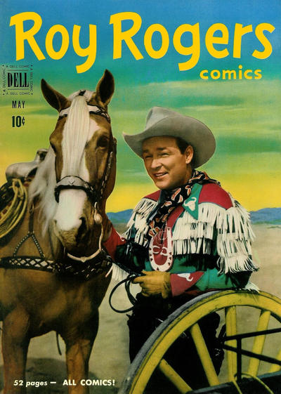 Cover for Roy Rogers Comics (Dell, 1948 series) #41