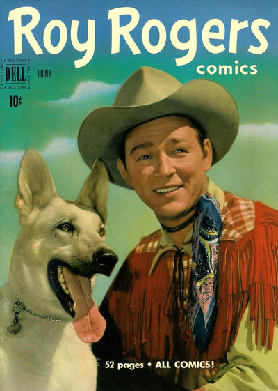 Cover for Roy Rogers Comics (Dell, 1948 series) #42