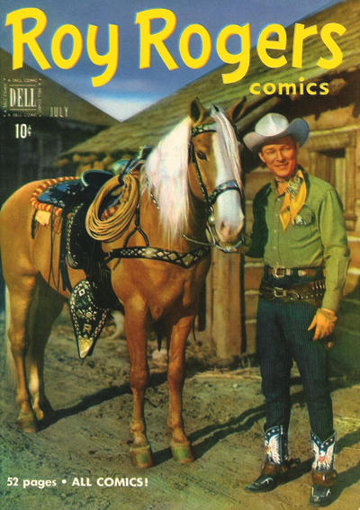 Cover for Roy Rogers Comics (Dell, 1948 series) #43