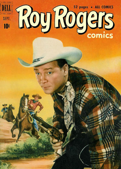 Cover for Roy Rogers Comics (Dell, 1948 series) #45