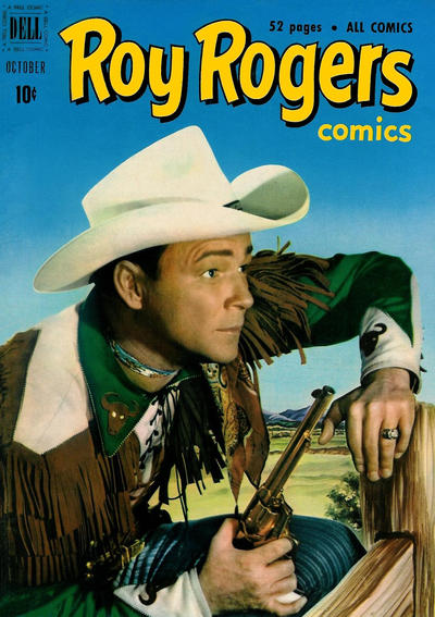 Cover for Roy Rogers Comics (Dell, 1948 series) #46
