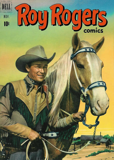 Cover for Roy Rogers Comics (Dell, 1948 series) #47