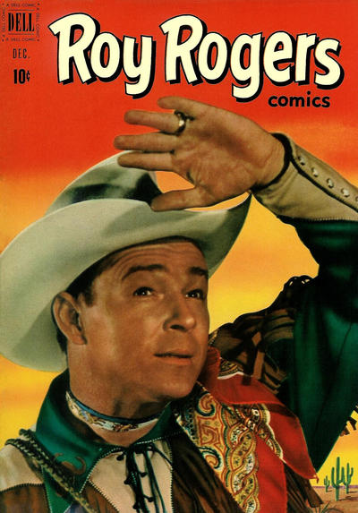 Cover for Roy Rogers Comics (Dell, 1948 series) #48