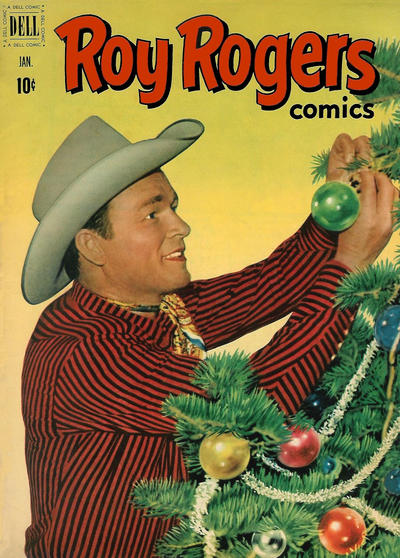 Cover for Roy Rogers Comics (Dell, 1948 series) #49