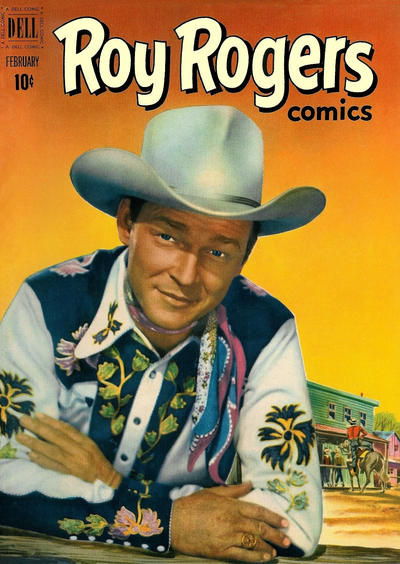 Cover for Roy Rogers Comics (Dell, 1948 series) #50