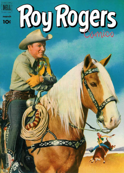 Cover for Roy Rogers Comics (Dell, 1948 series) #51