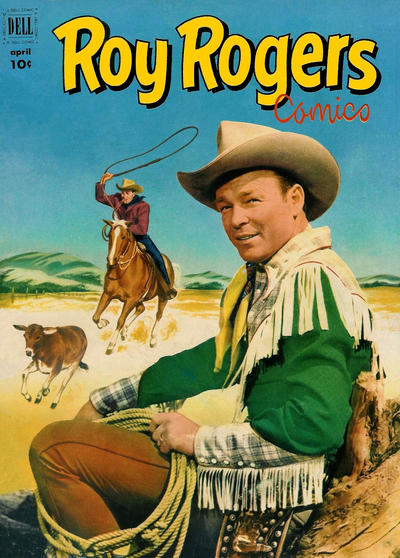 Cover for Roy Rogers Comics (Dell, 1948 series) #52