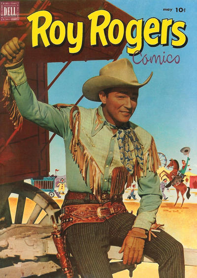Cover for Roy Rogers Comics (Dell, 1948 series) #53