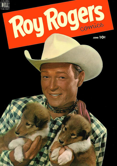 Cover for Roy Rogers Comics (Dell, 1948 series) #54
