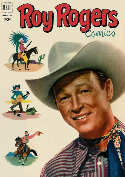Cover for Roy Rogers Comics (Dell, 1948 series) #56