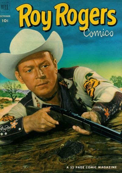 Cover for Roy Rogers Comics (Dell, 1948 series) #58