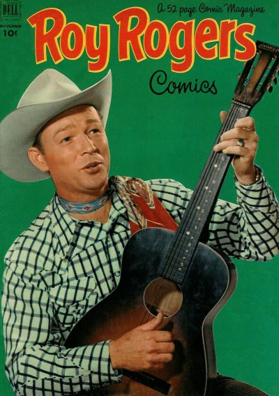 Cover for Roy Rogers Comics (Dell, 1948 series) #59
