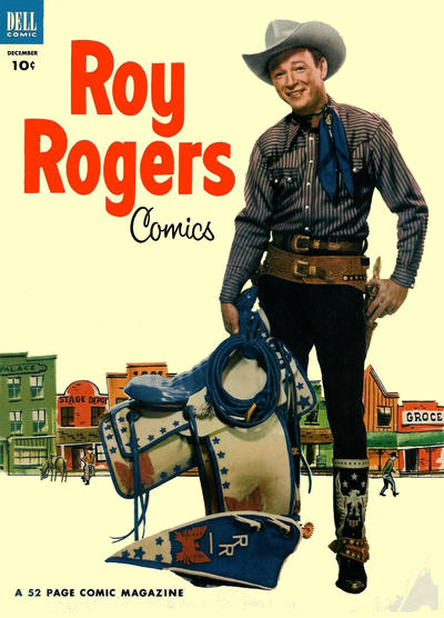 Cover for Roy Rogers Comics (Dell, 1948 series) #60