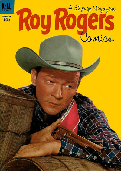 Cover for Roy Rogers Comics (Dell, 1948 series) #62