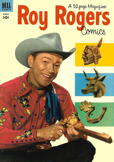 Cover for Roy Rogers Comics (Dell, 1948 series) #63