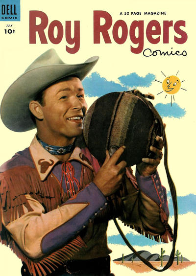 Cover for Roy Rogers Comics (Dell, 1948 series) #67