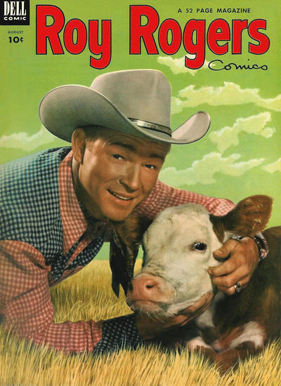 Cover for Roy Rogers Comics (Dell, 1948 series) #68