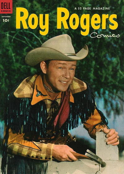 Cover for Roy Rogers Comics (Dell, 1948 series) #69