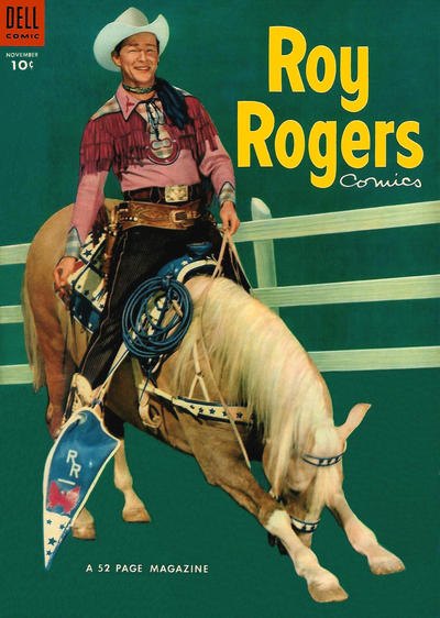 Cover for Roy Rogers Comics (Dell, 1948 series) #71
