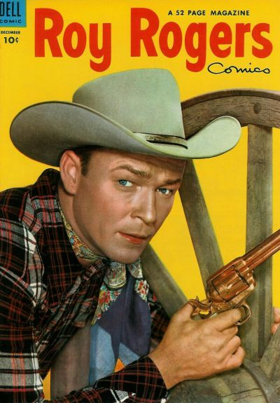 Cover for Roy Rogers Comics (Dell, 1948 series) #72