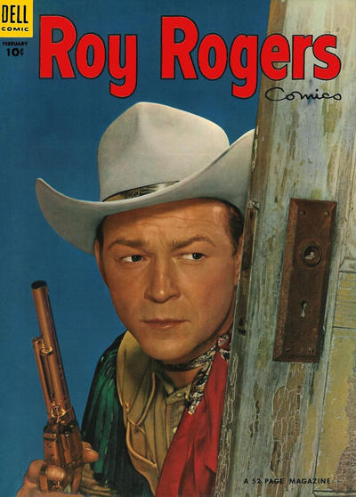 Cover for Roy Rogers Comics (Dell, 1948 series) #74