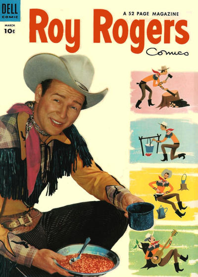 Cover for Roy Rogers Comics (Dell, 1948 series) #75